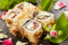 Bonito Sushi Rolls Royalty Free Stock Photography