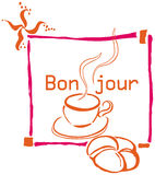 Bonjour Stock Images