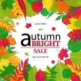 Bonjour Autumn Sale Photo stock
