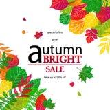 Bonjour Autumn Sale Photographie stock libre de droits