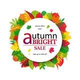 Bonjour Autumn Sale Photos libres de droits