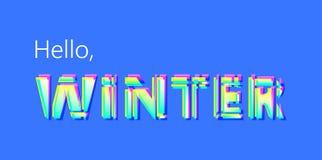 Bonjour, hiver Image libre de droits