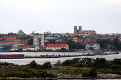 Bonjour Karlskrona Images libres de droits