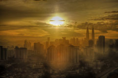 Bonjour Kuala Lumpur. Photo stock