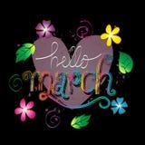 Bonjour mars Image libre de droits
