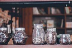 Bonjour pendant le matin avec du café aromatique d'amour du café I j'aime t Photographie stock