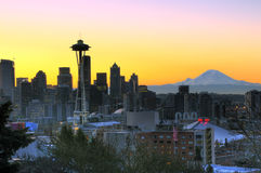 Bonjour Seattle photos libres de droits