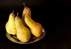 Bonkrety żniwa owoc tło Świeże Organicznie bonkrety Bonkrety jesieni żniwa Soczyste przyprawione bonkrety na czarnym tle obrazy stock