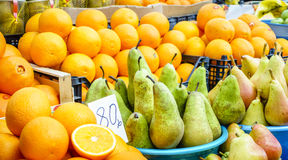 Bonkrety i pomarańcze Zdjęcie Royalty Free