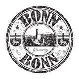 Bonn grunge rubber stamp Royalty Free Stock Images