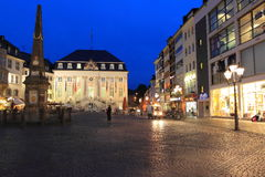 Bonn at night Royalty Free Stock Images