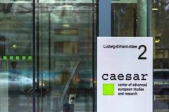 Ceasar sign in bongermany. Bonn, North Rhine-Westphalia/germany - 28 11 18: ceasar sign in bongermany stock photos