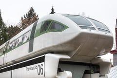 Bonn, North Rhine-Westphalia/germany - 28 11 18: transrapid 06 magnet train bonn germany. Bonn, North Rhine-Westphalia/germany - 28 11 18: an transrapid 06 royalty free stock photography