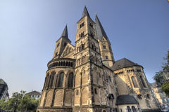 Bonn Palatine Chapel. Palatine Chapel in Bonn, Germany Stock Images