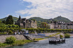 Bonn, rivage de pluie Photos libres de droits