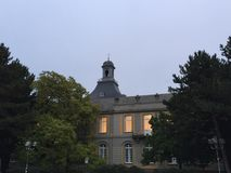 Bonn University Morning Stock Photo