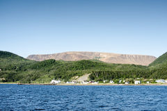 Bonne海湾,格罗莫讷国家公园,纽芬兰与拉布拉多 库存照片