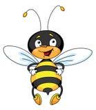 Bonne abeille illustration de vecteur