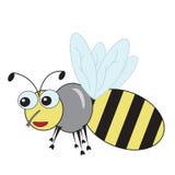 Bonne abeille d'amusement Photographie stock libre de droits