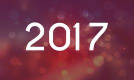 Bonne année 2017 royaltyfri illustrationer
