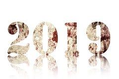 Bonne année - 2019 photographie stock libre de droits