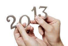 Bonne année 2013 Photographie stock libre de droits