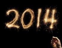 Bonne année 2014 Photographie stock