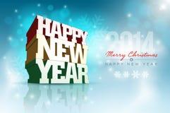 Bonne année illustration stock
