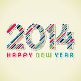 Bonne année 2014 Images stock