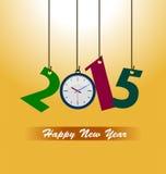 Bonne année 2015 Images libres de droits