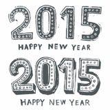 Bonne année 2015 Images stock