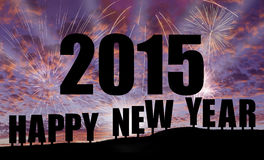 Bonne année 2015 Photographie stock