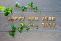Bonne année 2015 illustration stock