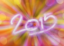 Bonne année 2015 Photographie stock libre de droits