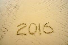 Bonne année 2016 Photographie stock libre de droits