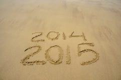 Bonne année 2015 Photos libres de droits