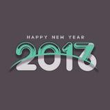 Bonne année - 2017 Photos libres de droits