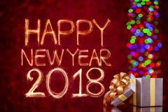 Bonne année 2018 Photos libres de droits