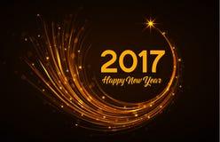 Bonne année 2017 illustration stock