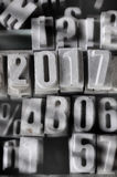Bonne année 2017 Photos stock