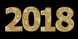 Bonne année 2018 Images libres de droits