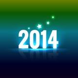 Bonne année colorée illustration stock