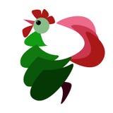 Bonne année de coq rouge Photos libres de droits