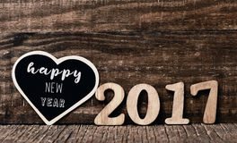 Bonne année 2017 des textes Image stock