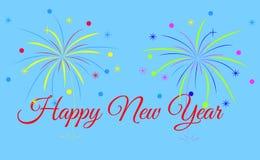 Bonne année, essai de bonne année Illustration Libre de Droits