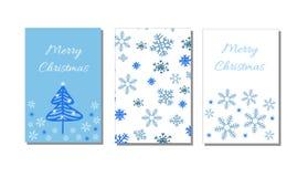 Bonne année et carte de voeux sans couture de modèle et de Joyeux Noël, fond, papier d'emballage Photographie stock