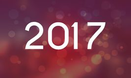 Bonne année 2017. Happy new year Royalty Free Stock Photos