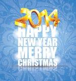 Bonne année 2014 - illustration Photo stock