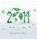 Bonne année 2014 - illustration Images libres de droits