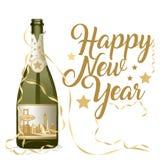 Bonne année Las Vegas illustration stock